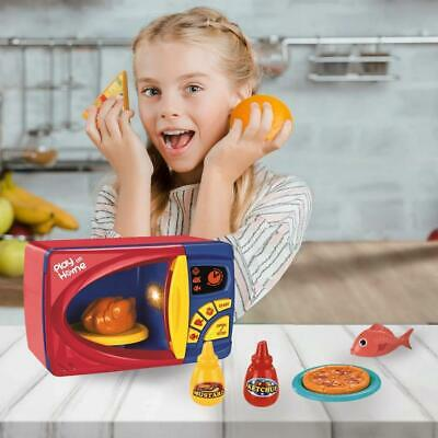Kids Microwave Oven Role Play Pretend Toy With Light & Sound Ideal Xmas Gift • 8.99£