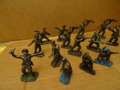 Lone Star Royal Marine Commandos And Others. 14  Figures.1960s • 8.99£