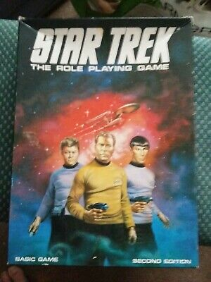 Star Trek The Role Playing Game - Games Workshop 2nd Ed 1983 • 5.99£