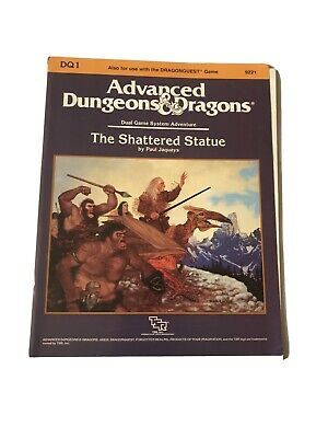 DQ1 The Shattered Statue RPG AD&D 9221 • 20£