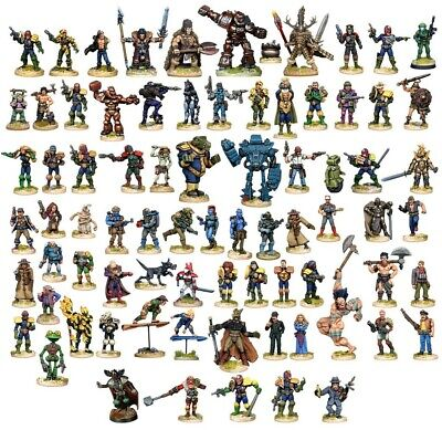 2000AD Wargames Foundry Complete Set • 385£