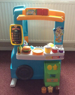 Fisher-Price Musical Laugh & Learn Servin' Up Fun Food Truck • 35£