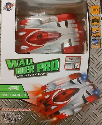 Wall Rider Pro Anti Gravity Car Never Been Used.brand New Sealed Box Red Car • 0.99£
