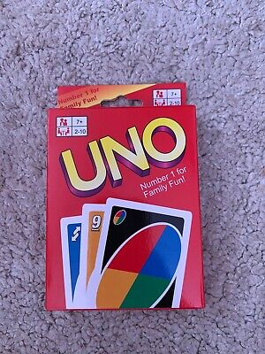 Uno Card Game 108 Playing Cards Indoor Family Children Friends Party Gift Uk Fun • 2.90£
