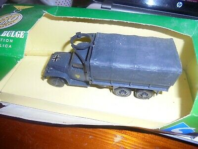Military Diecast Battle Of The Bulge Captured GMC 6 X 6 2nd Panzer Division • 10£