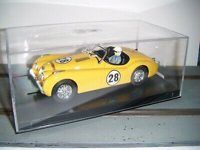 Ninco Jaguar XK 120 Motor Car Limited Edition One Of 500 Yellow Col. • 40£