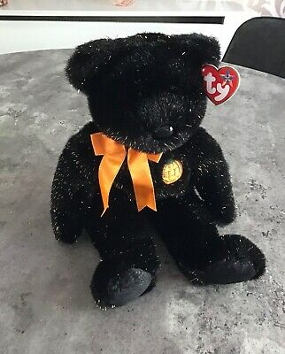 TY Beanie Buddy - Haunt Bear - Excellent Condition • 22£