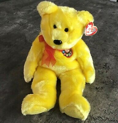 TY Beanie Buddies - Tradee The Bear - TY Store Exclusive - Rare • 35£