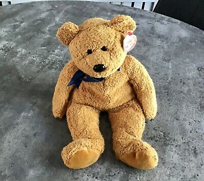 TY Beanie Buddies - Fuzz The Bear - Excellent Condition • 40£