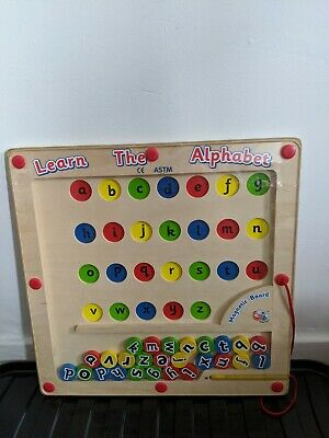 Learn The Alphabet Magnetic Board • 10£