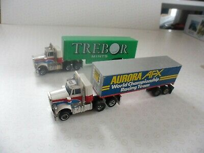 Tyco Slot Trucks, Compatible With AFX, Aurora  • 40£