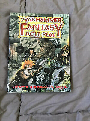 Warhammer Fantasy Roleplay (WFRP) Core Rules 1st Edition • 5.50£