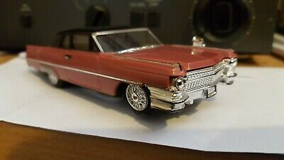 Ideal Motorific Cadillac 1964  Complete And Working  Vintage Battery Slot Car • 20£