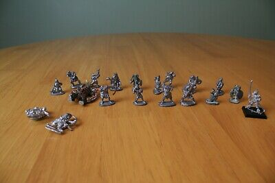 19 Vintage Dungeons & Dragons Fantasy Miniatures, Used Free Postage. • 0.99£