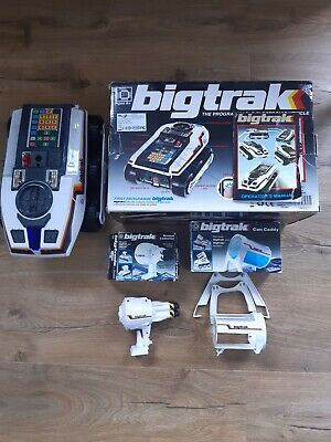 Big Track Programmable Electronic Vehicle Bundle: Rocket Launcher & Can Caddy • 12£