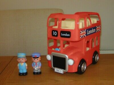 ELC Happyland London Bus With Working Sounds, 2 Figures • 10.50£