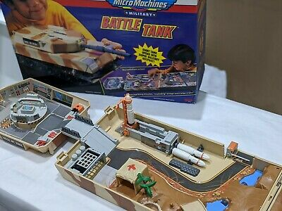 VINTAGE MICRO MACHINES BATTLE TANK Complete With Box           Micromachines • 5£