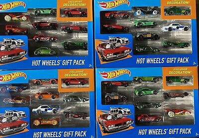 Hot Wheels Gift Pack 9 Vehicles Exclusive Racing Cars Rare ! • 12.99£