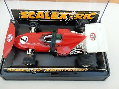 Vintage Scalextric C026 C26 March Ford 721 - Very Good Condition • 23.50£