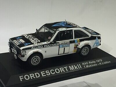 1/43 Ford Escort Rs 1800 Mk 2 Lombard Rac Rally 1975 Timo Makinen • 24.99£