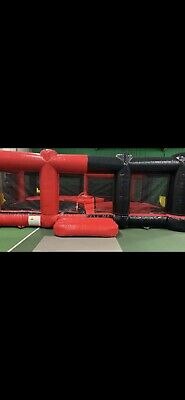 Giant Inflatable Hungry Hippos/ Smash And Grab Commercial Bouncy Castle Add On • 1,750£