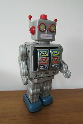 Space WalkMan TIN PLATE,Battery Operated ,FULLY WORKING (RARE!) Robot  • 19.99£