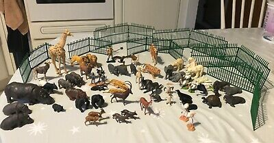 Britains ZOO ANIMALS, Vintage, 50+, In Excellent Condition, Including Fences • 5£