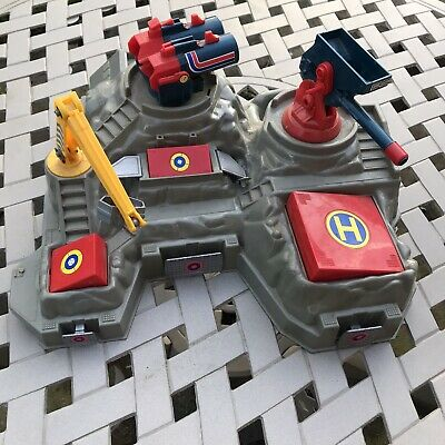Rare Bluebird Manta Force Battle Fortress - Vintage Space Toy Collectible • 45£