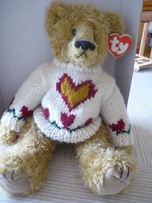 TY ATTIC TREASURES - 11   Bear  Heartley • 10£