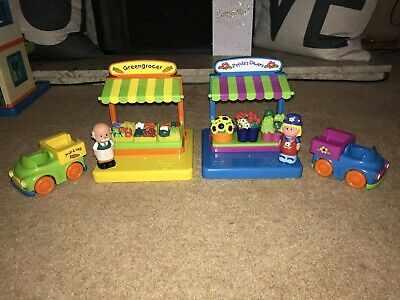 ELC Happy Street / Happy Land Greengrocer & Petula's Flower Stand & Accessories • 12£
