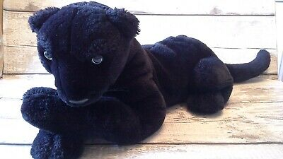 Large Black Panther Soft Plush Toy • 12£