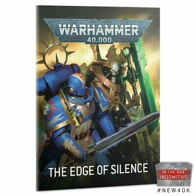Warhammer 40k 9th Edition Edge Of Silence Campaign Book Pre-Order • 6£