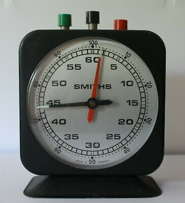 Vintage West German Smiths Chess Timer Clock Full Working Condition • 30£