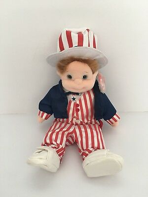 Ty Beanie Kids - Buzz In Ty Gear Uncle Sam Outfit • 8£