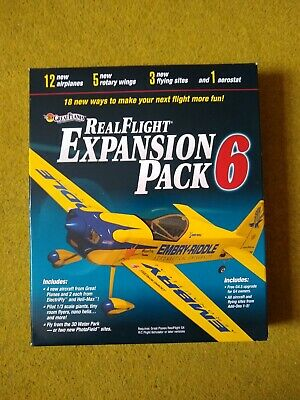 Great Planes RealFlight Expansion Pack 6 • 35£