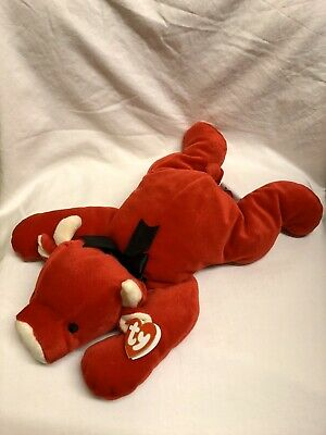 Red The Bull Ty Pillow Pals New With Tags • 8.99£