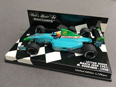 1/43 Leyton House March Judd C901 - Mauricio Gugelmin - 1990 • 35£