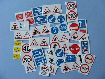 Road Sign Sticker Collection - Over 50 Stickers • 2.50£