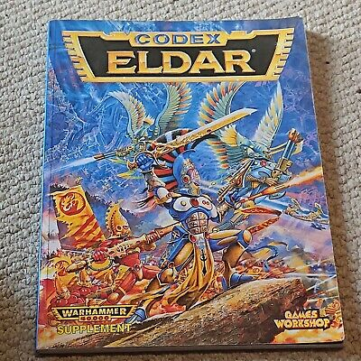 Games Workshop Warhammer 40K 2nd Ed Eldar Codex (1994) • 5£