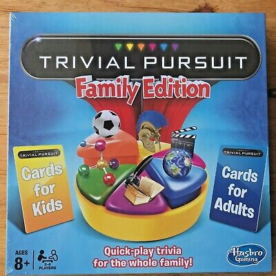 Trivial Pursuit Family Edition Board Game By Hasbro  • 22.95£