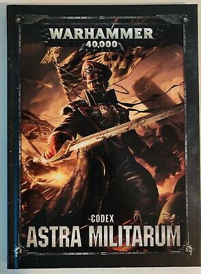 Warhammer 40,000 40k, Codex Astra Militarum, Imperial Guard, 8th Ed, Brand New • 1.20£