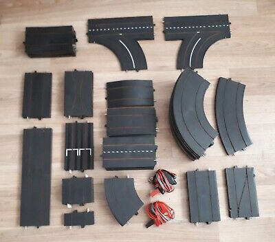 Large Collection Of Triang Minic Motorways Track X71 Pieces Plus Controllers X2. • 80£