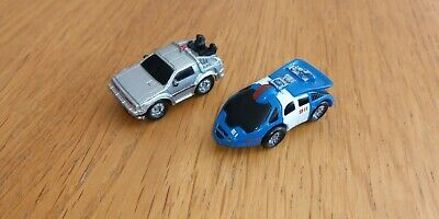 VINTAGE MICRO MACHINES/FUNRISE Back To The Future Cars • 10.99£