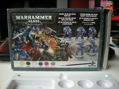 Warhammer 40K  Assault On Black Reach Paint Set • 3.50£