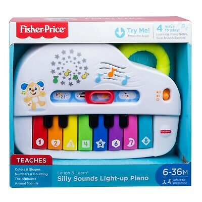 Fisher Price Laugh And Learn Silly Sounds Light Up Piano • 18.99£