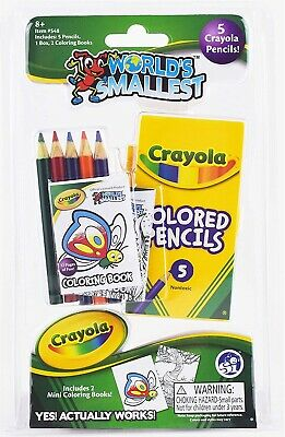 World's Smallest Crayola Coloring Set • 12.99£