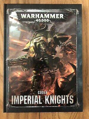 Warhammer 40k Codex Imperial Knights • 5£