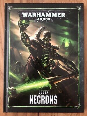 Warhammer 40k Codex Necrons • 7.40£
