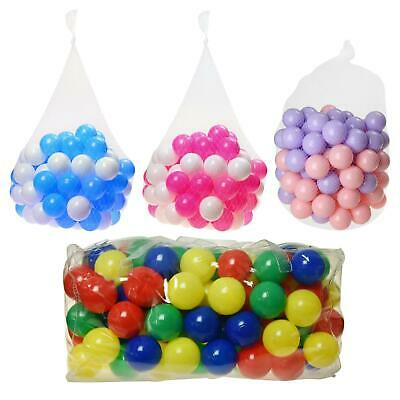 Pit Balls Kids Children Swim Ball Pits Toys Soft Play Pool Pen Multi Colours • 50.39£