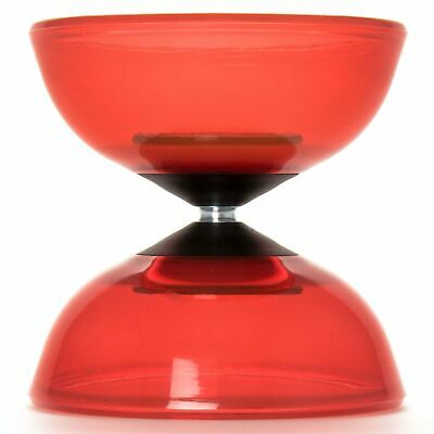 Red Mr Babache Tornado Crystal Diabolo (COMES WITHOUT STICKS) • 22.99£